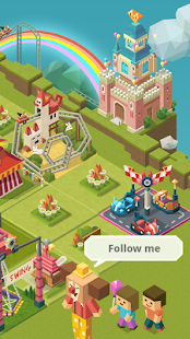 Merge Tycoon: 2048 Theme Park Screenshot