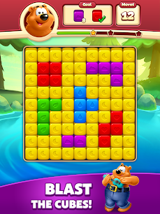 Toon Blast Mod Apk (Unlimited Moves + Unlimited Boosters) 8