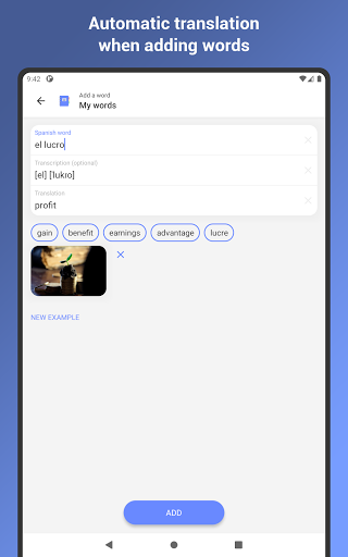 Learn Spanish Language: Learning Flash Cards apktram screenshots 10