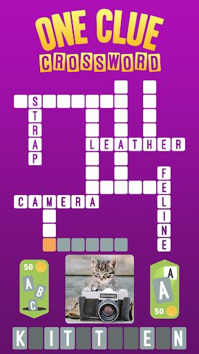 One Clue Crossword  screenshots 1