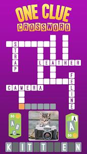 One Clue Crossword Apk 1