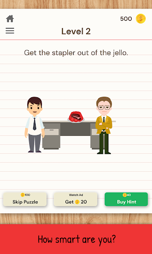 The Moron Test: Challenge Your IQ with Brain Games  screenshots 11