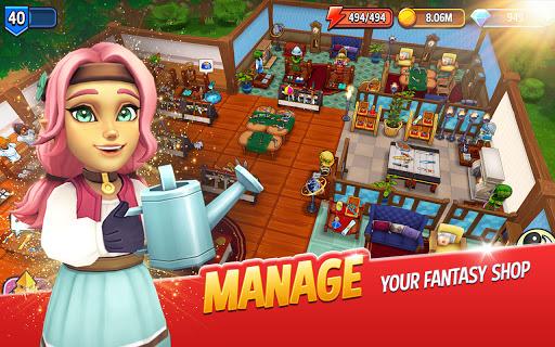 Shop Titans: Epic Idle Crafter, Build & Trade RPG 7.0.2 screenshots 2