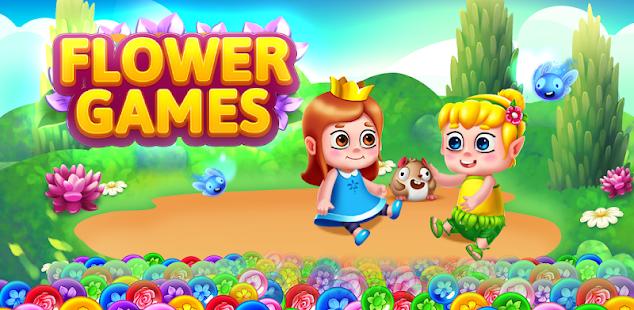 bubble shooter - flower games hack