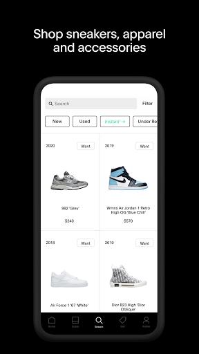 GOAT u2013 Sneakers & Apparel android2mod screenshots 1