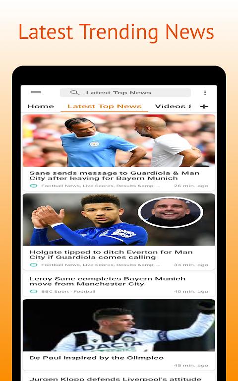Football Pro: Soccer Scores, Football News, Videos  poster 9