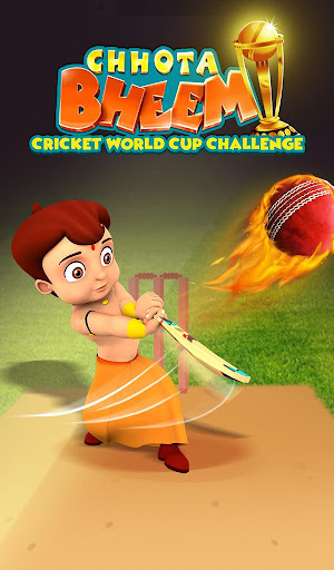 Chhota Bheem Cricket World Cup Challenge apktreat screenshots 1