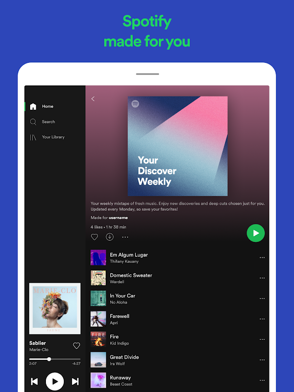 Spotify: Listen to new music and play podcasts  poster 8