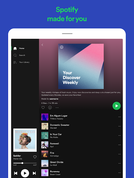 Spotify: Listen to new music and play podcasts screenshot 10