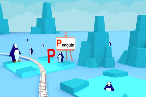Learn ABC Alphabet - Train Game For Preschool Kids 2.1 screenshots 3