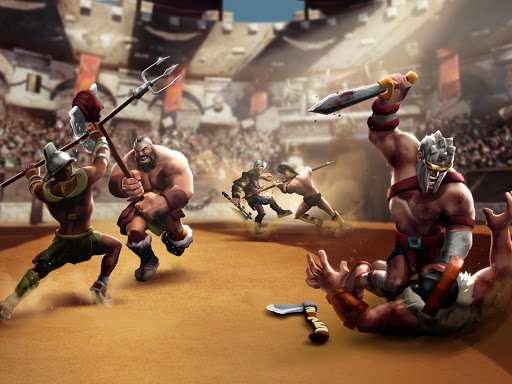 Gladiator Heroes - Strategy and Fighting Game  Screenshots 10
