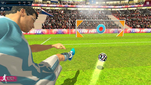 Soccer Championship-Freekick apkpoly screenshots 23
