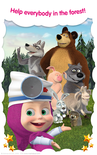 Masha and the Bear: Free Animal Games for Kids screenshots 18