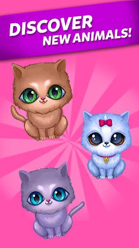 Télécharger Gratuit Merge Cute Animals: Chat et Chien mod apk screenshots 4