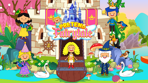 My Pretend Fairytale Land - My Royal Family Game screenshots 11