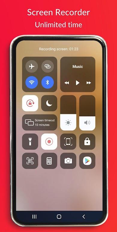 Control Center IOS 14 - Screen Recorder  poster 1