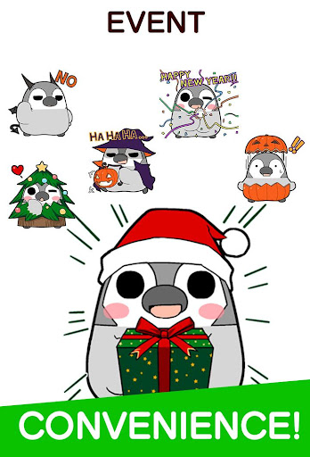 Pesoguin Stickers android2mod screenshots 4