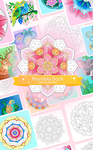 Color by Number u2013 Mandala Book 2.2.1 screenshots 9