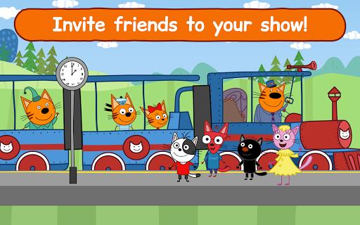 Kid-E-Cats Circus Games! Three Cats for Children  screenshots 11