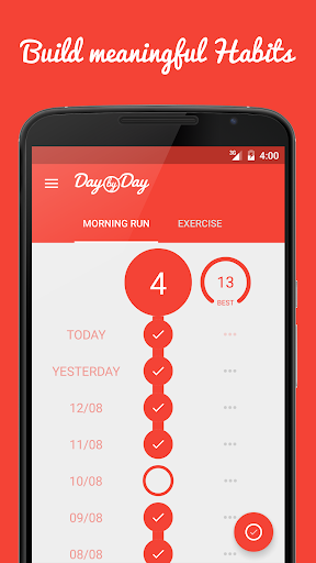 Day by Day • Track & Build Habits, Routines, Goals  screenshots 1