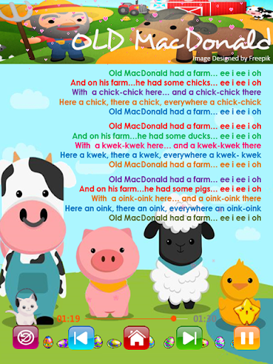 Kids Songs - Offline Nursery Rhymes & Baby Songs  screenshots 4