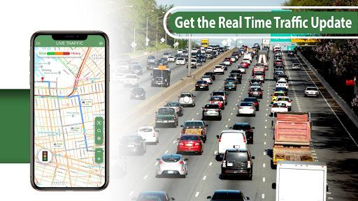 gps navigation & maps - directions, route finder screenshot 2