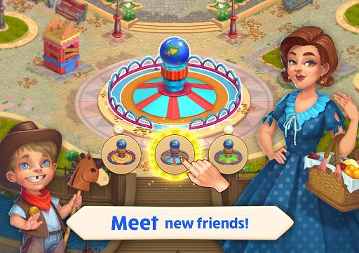 Matchland - Build your Theme Park  screenshots 10