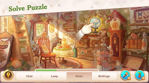 Kawaii Mansion: Cute Hidden Object Game apkpoly screenshots 3