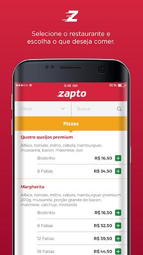 Zapto - Delivery de comida  screenshots 3