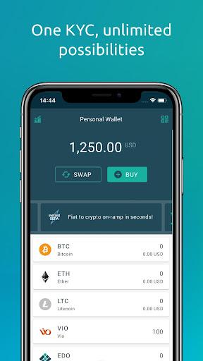 Eidoo: Bitcoin and Ethereum Wallet and Exchange 2.14.0 Screenshots 5