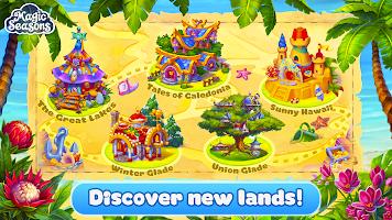Magic Seasons - build and craft game