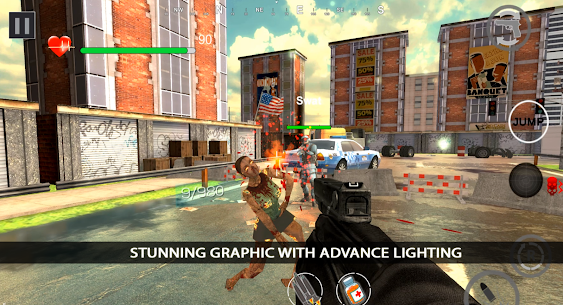 Zombie Shooter Dead Terror Mod Apk (God Mode) 8
