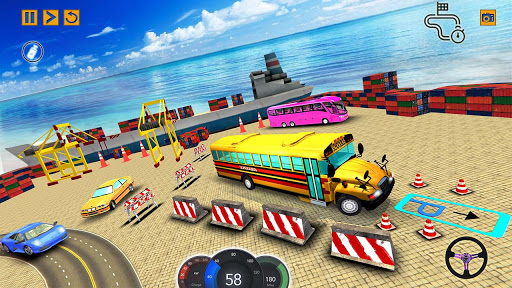 City School Bus Game 3D apkdebit screenshots 5