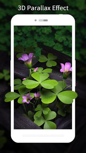 3D Flowers Live Wallpaper HD 1.6.7 screenshots 1