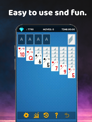 Solitaire - Enjoy card Game 1.615 screenshots 1
