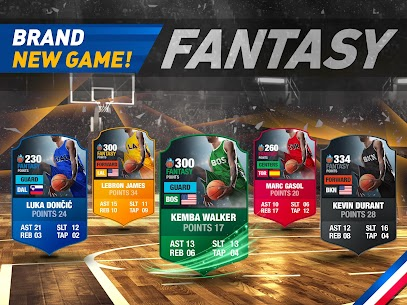 Free Basketball Fantasy Manager 2k20 🏀 NBA Live Game Apk Download 2021 4