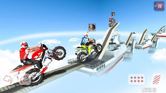 Dirt Bike Roof Top Racing Motocross ATV race games 10