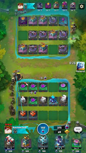 Random Clash - Epic fantasy strategy mobile games apkdebit screenshots 14