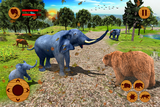 Wild Elephant Family Simulator apkpoly screenshots 15