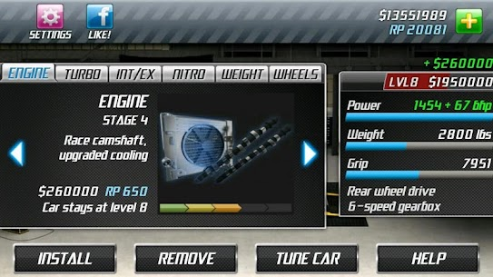 "Download Drag Racing Racing game ""overtaking competitions"" Android + mode 3"