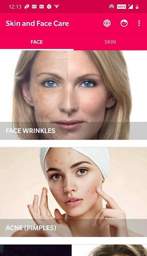 Skin and Face Care - acne, fairness, wrinkles 2.2.0 Screenshots 1