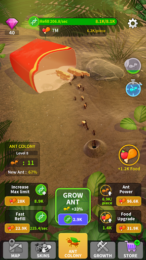 Little Ant Colony - Idle Game 3.1 screenshots 5