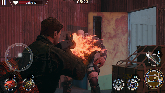 Download Left to Survive (MOD, Unlimited Ammo) for Android 6