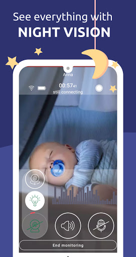 Annie Baby Monitor: Video Audio Nanny Cam 3G WiFi 3.12.1+master.c9ab675da Screenshots 6