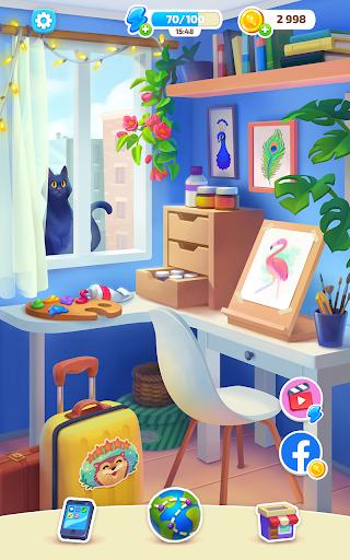 Color Stories - color journey, paint art gallery apkpoly screenshots 12