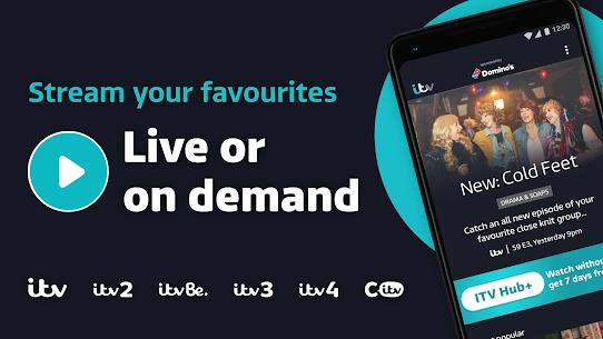 ITV Hub: Your TV Player APK (Ultima Versión) 1