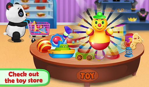 Panda Supermarket Shop - Fun Shopping Mania screenshots 4