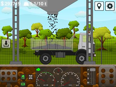 Mini Trucker – 2D offroad truck simulator MOD APK 1.6.0 (Purchase Free) 11