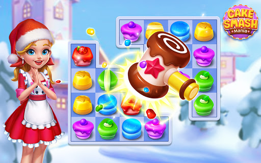 Cake Smash Mania - Swap and Match 3 Puzzle Game  screenshots 24