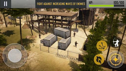 Ninja Archer Assassin FPS Shooter: 3D Offline Game 2.8 screenshots 6